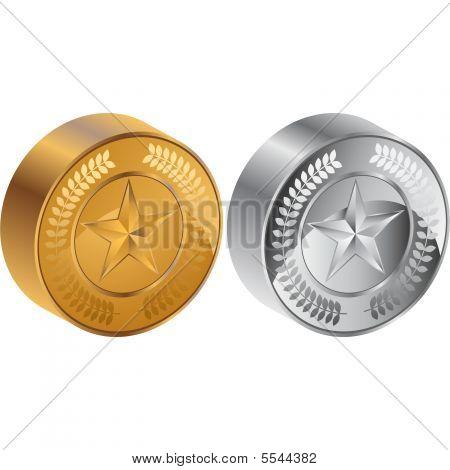 Star Coin 3D