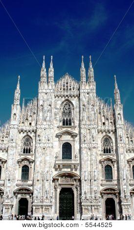 Duomo Facade, Milan