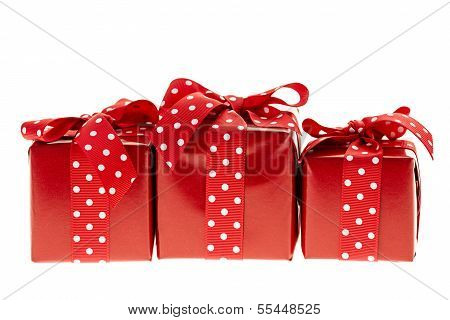 Red Gift Boxes
