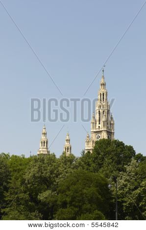 Rathause - The City Hall of Vienna