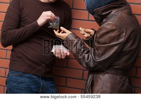 Exchanging Drugs For Money
