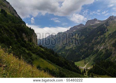Hiking Next To Oberstdorf