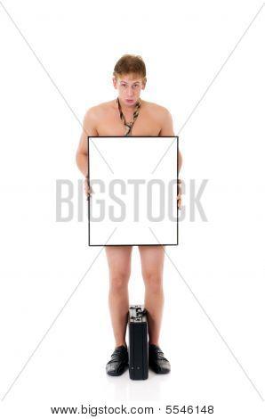 Bankrupt Businessman, Stripped