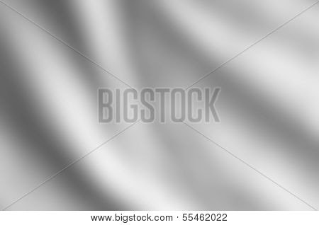 Silvery Grey Satin Draped Background