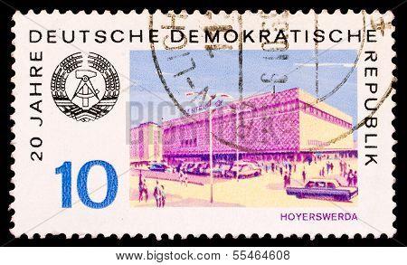 Gdr Stamp, Hoyerswerda