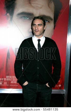 LOS ANGELES - DEC 12:  Joaquin Phoenix at the