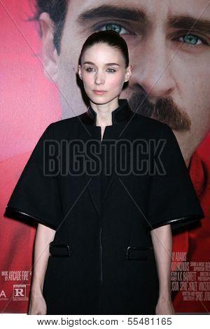 LOS ANGELES - DEC 12:  Rooney Mara at the