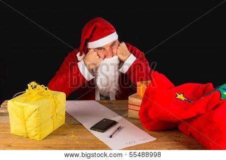 Sulky Santa