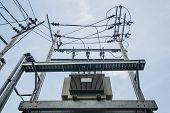 High Voltage Transformer In The Sky