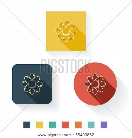 Science Flat Icon Design