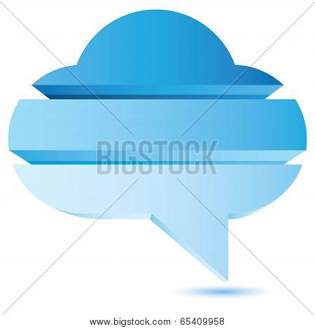 blue cloud diagram
