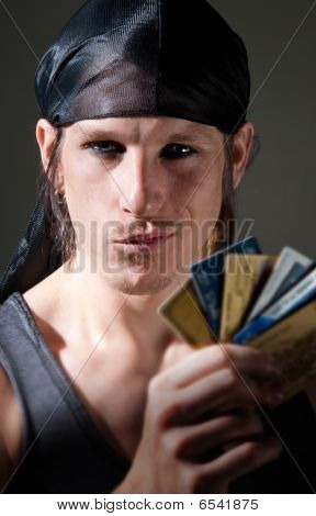 Thief With Credit Cards