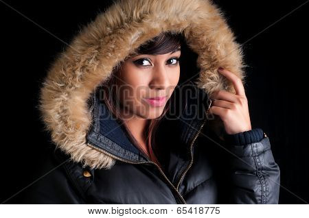 Pretty Girl In A Parka