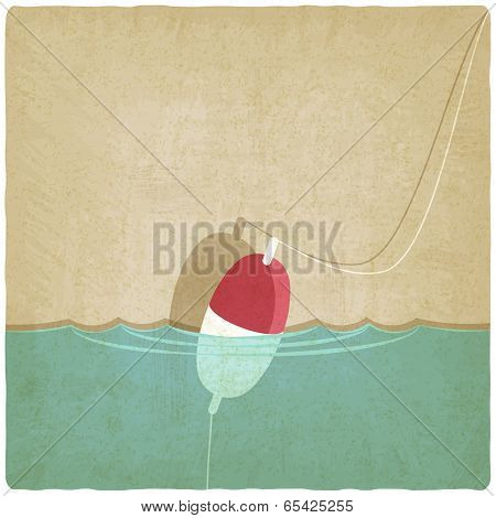 bobber fishing background