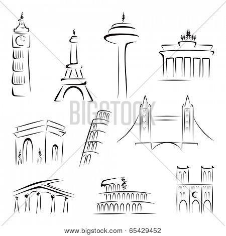 Famous buildings