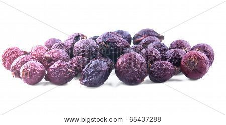 The Pile Of Briar Fruits Isolated