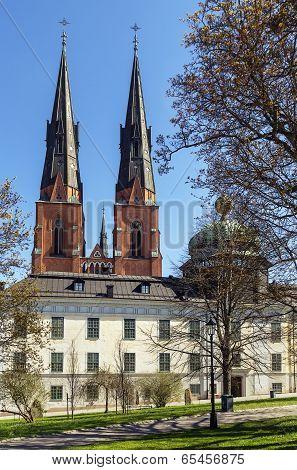 Uppsala Cathedral And Gustavianum