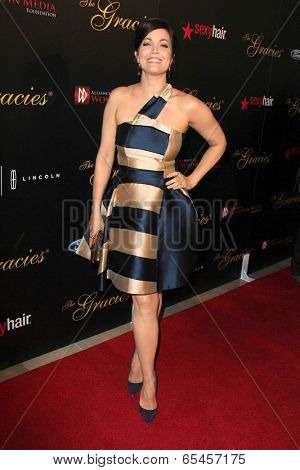 LOS ANGELES - MAY 20:  Bellamy Young at the 39th Annual Gracie Awards at Beverly Hilton Hotel on May 20, 2014 in Beverly Hills, CA