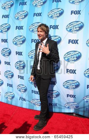 LOS ANGELES - MAY 21:  Keith Urban at the American Idol Season 13 Finale at Nokia Theater at LA Live on May 21, 2014 in Los Angeles, CA