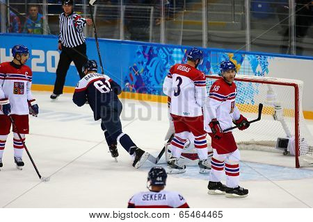 Ice Hockey. Men's Play-offs Qualifications