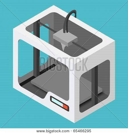 Isometric 3D Printer