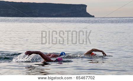 Early morning swim in Sydney
