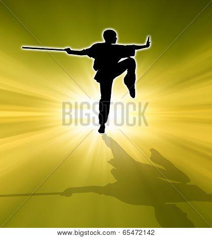 Kung fu Pose