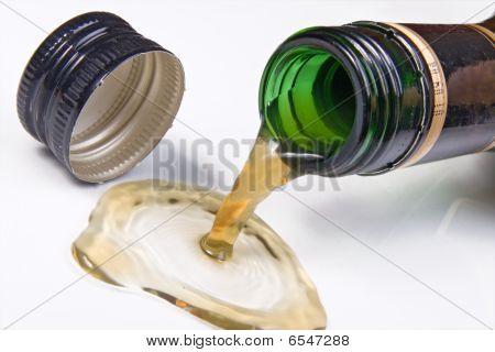 spillage brandy