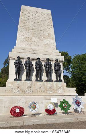 Guards Memorial In London