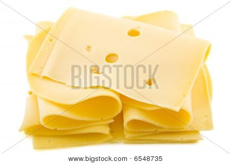 Slices Of Dutch Cheese