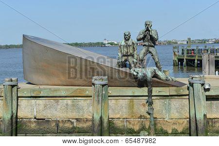 American Merchant Marines Memorial In New York City