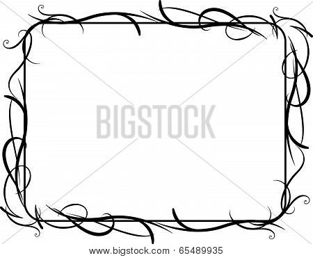 Vector Vines Frame