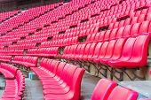 stock photo of bleachers  - stadium - JPG