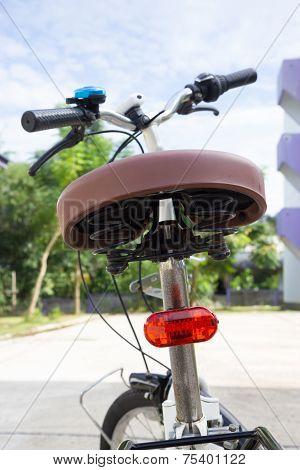 Safety Red Light Of Bike
