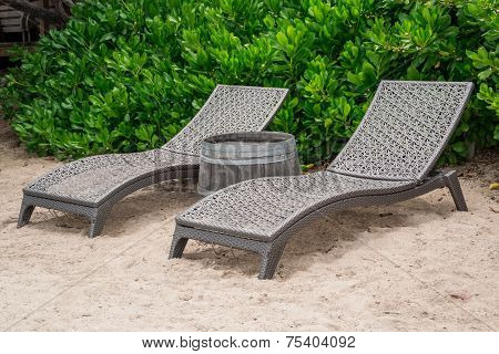 Two Beach Chairs