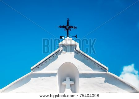 Vane On Church Roof