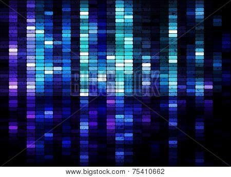 Grunge shiny mosaic background, vector eps10 illustration