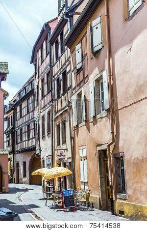 House In Little Venice In Colmar