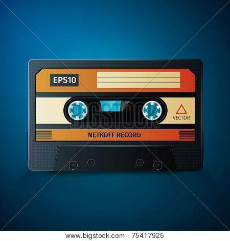 vintage audio tape