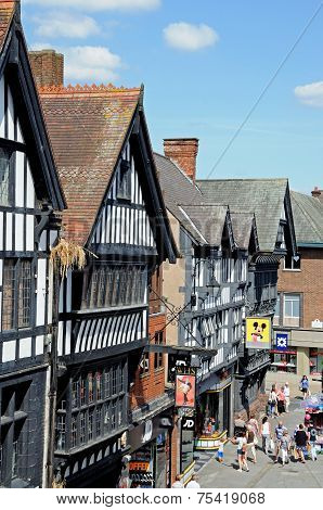 Tudor Shops, Chester.