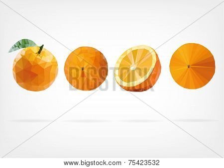 Low Poly Orange