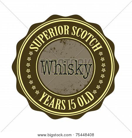 Superior Scotch Whisky