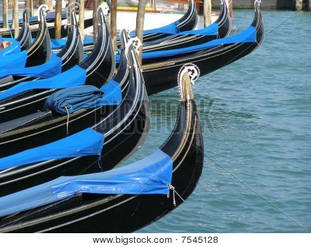 gondalas in Venice