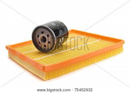 Air Filter Car, Oil Filter