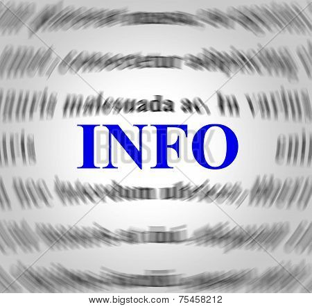 Info Definition Means Meaning Answers And Sense