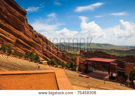 Famous Historic Red Rocks Amphitheater