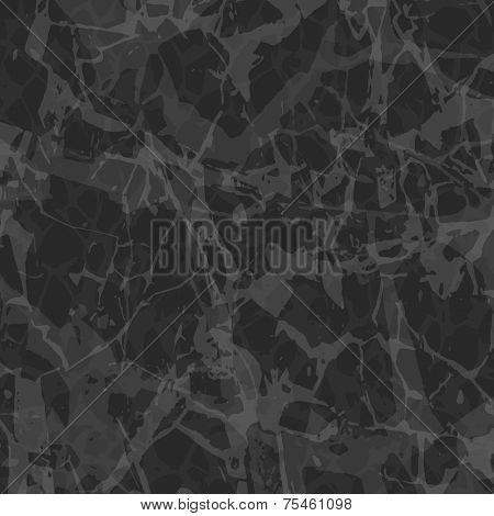 Dark Gray Marble Background - Vector EPS 10