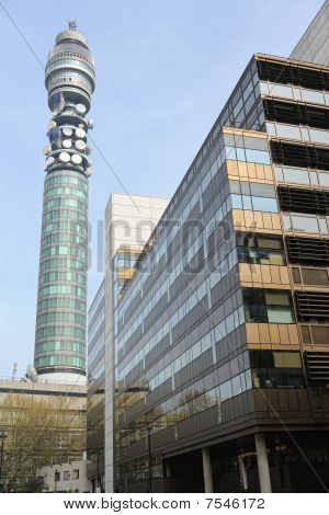 The Bt Tower (formerly Known As Post Office Tower, And Telecom Tower) One Of The Most Iconic And Wel