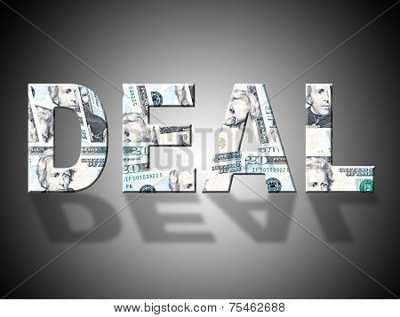 Deal Dollars Represents United States And American