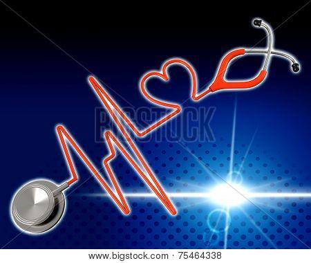 Medical Health Indicates Preventive Medicine And Cardiac